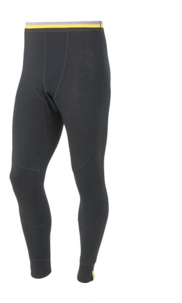 Sensor Merino Wool Active pánské spodky černá S
