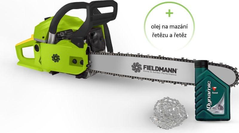 Fieldmann FZP 4516 + řetěz + olej
