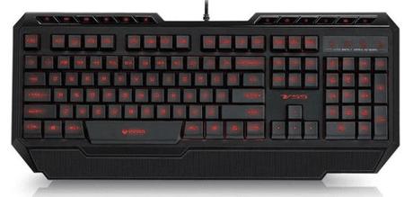 Rapoo Gaming osvetljena tipkovnica VPRO V55, črna