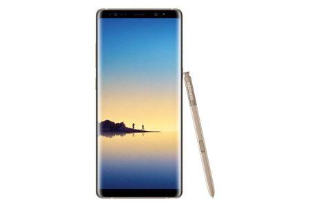 SAMSUNG Galaxy Note8, Dual Sim, zlatý