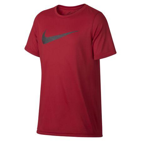 Nike deška majica Dry Tee Leg Storm Swoosh, rdeča, L