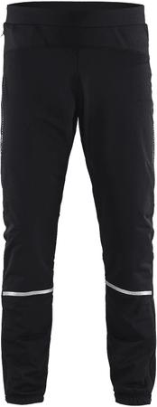 Craft moške lahke smučarske hlače Essential Winter, črne, S