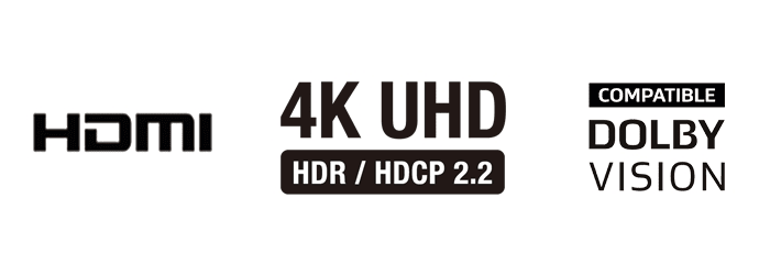 HDMI s HDR, Dolby Vision