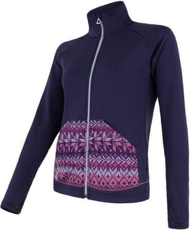 Sensor bluza Tecnostretch Pattern W purple M