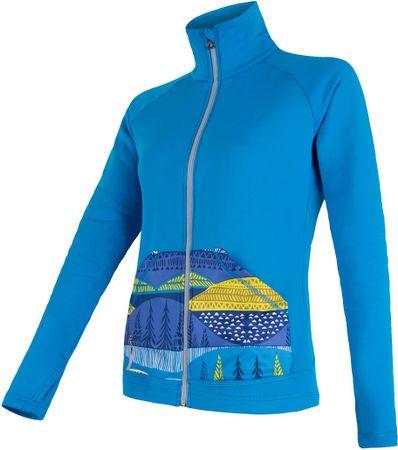 Sensor bluza Tecnostretch Pattern W blue S