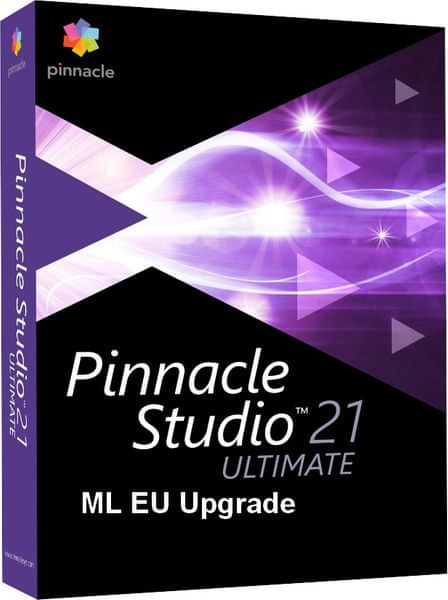 Pinnacle Systems Pinnacle Studio 21 Ultimate ML EU Upgrade (PNST21ULMLEU-UPG)