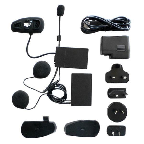 AGV komunikace SHARE EASY Bluetooth pro otevřené/vyklápěcí přilby , zadní