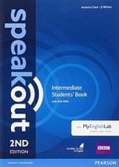 Clare Antonia: Speakout Intermediate Students´ Book with DVD-ROM and MyEnglishLab Access Code Pack