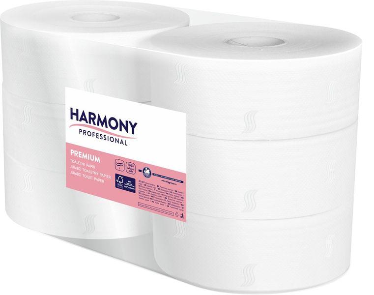 Papír toaletní JUMBO Harmony Professional ? 280 mm celulozový 2-vrstvý / 6 ks