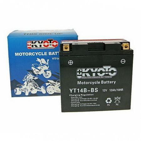 Batérie KYOTO 12V 12Ah YT14B-BS (dodávané s kyselinovú náplňou)