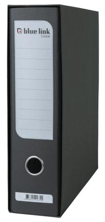 Blue Link registrator A4, 80 mm, črn (21672)