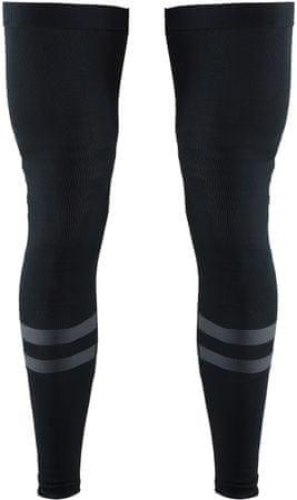 Craft brezšivne kolesarske hlačnice Leg Warmer 2.0, črne, M/L