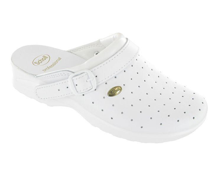 Zdravotní obuv CLOG RACY Byc-U - bílá (Velikost vel. 43)