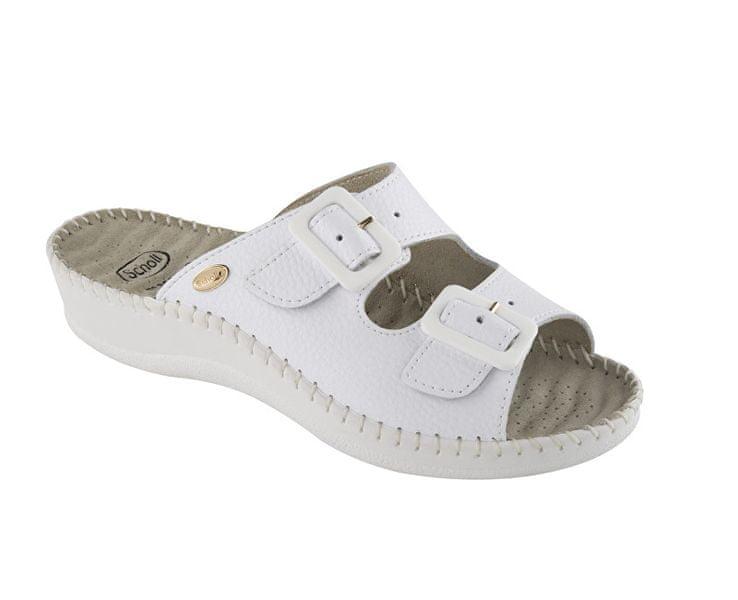 Zdravotní obuv WEEKEND -bílá (Velikost vel. 37)