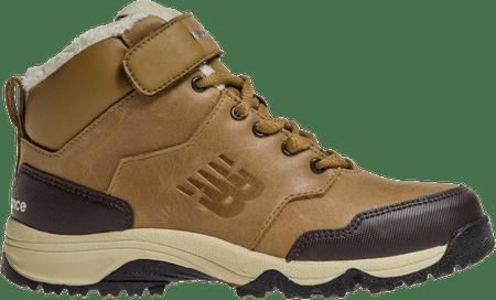 New Balance otroški zimski čevlji KV754BLY, rjavi, 33
