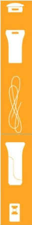Fiskars Náhradní rukojeť a tažný pásek pro UPX82