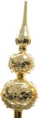 Kaemingk Okrasna špica z biseri zlata sijaj, 31 cm
