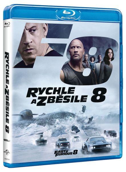 Rychle a zběsile 8 - Blu-ray