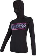 Sensor Thermo dámské triko dl.rukáv s kapucí
