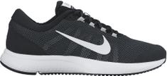 Nike moški tekaški copati RunAllDay, črno-beli