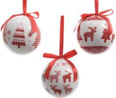 Kaemingk Božični okraski krogle, darilno pakiranje 7 kosov