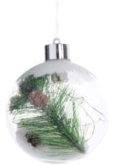 Kaemingk Božični okraski, krogle z vejo 1 kos