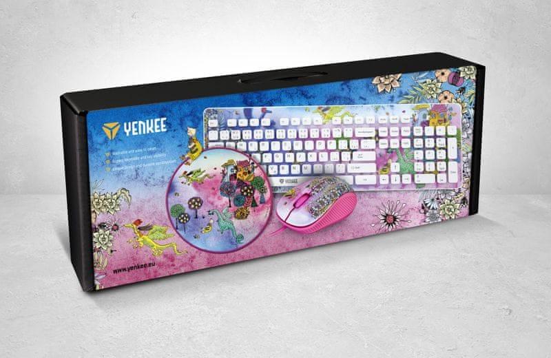 Yenkee Fantasy Set růžový