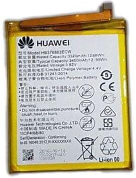 Huawei baterie HB376883ECW (Huawei P9 Plus), 3400 mAh, Li-Pol, (Bulk)