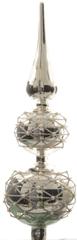 Kaemingk Okrasna špica srebrna s biseri, 31 cm