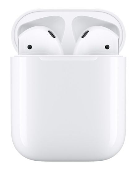 Apple AirPods s nabíjecím pouzdrem MMEF2ZM/A bezdrátová sluchátka (2017)
