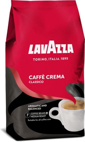 Lavazza Crema Classico zrnková káva 1 kg