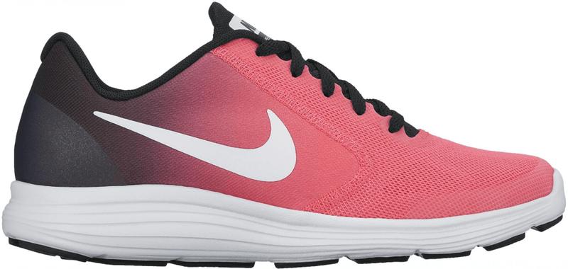 Nike Girls' Revolution 3 (GS) Running Shoe Pink 37.5