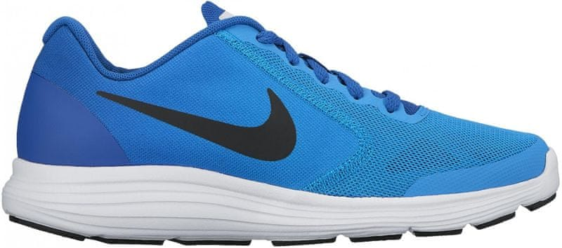 Nike Boys' Revolution 3 (GS) Running Shoe Blue 38.5