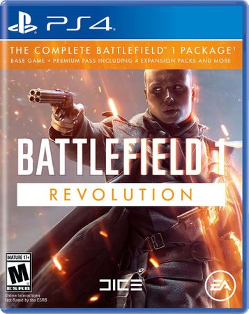 EA Games Battlefield 1 Revolution Edition / PS4