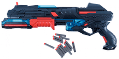 Teddies Műanyag pisztoly 50 cm hab töltény