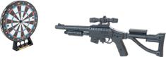 Teddies Lézer puska 53 cm + céltábla
