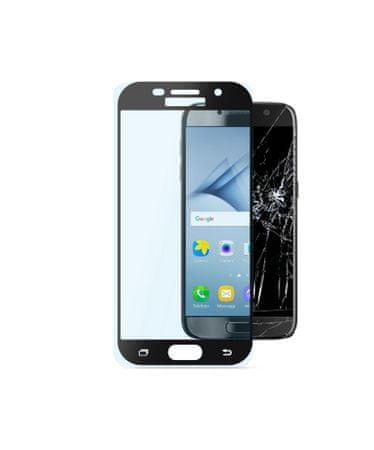 CellularLine zaščitno steklo Capsule za Samsung Galaxy A3 (2017), črno