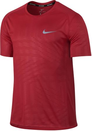 Nike koszulka do biegania M NK DRY MILER TOP SS PR M