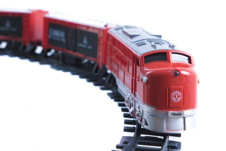 Teddies Vlak 18cm + 3 vagóny s koľajami 16ks