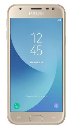 Samsung GSM telefon Galaxy J3 2017 Duos, zlat