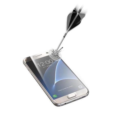 CellularLine zaščitno steklo Capsule za Samsung Galaxy S7, prozorno