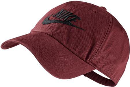 Nike kapa s ščitnikom Futura Washed H86, rdeča