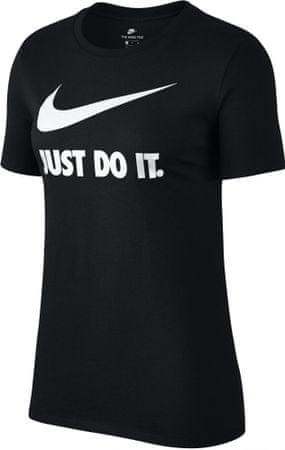 Nike ženska majica NSW Tee Crew JDI SWSH HBR, črna, XS