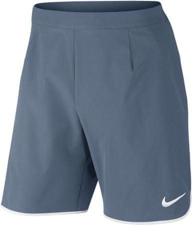 Nike moške hlače za tenis NKCT FLX Short Ace, sive, S