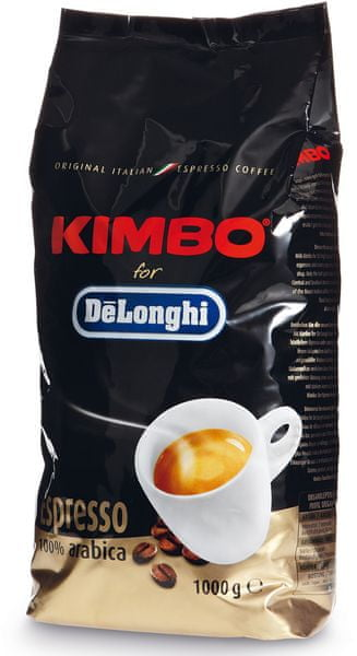 Kimbo DeLonghi zrnková káva Arabica 1kg