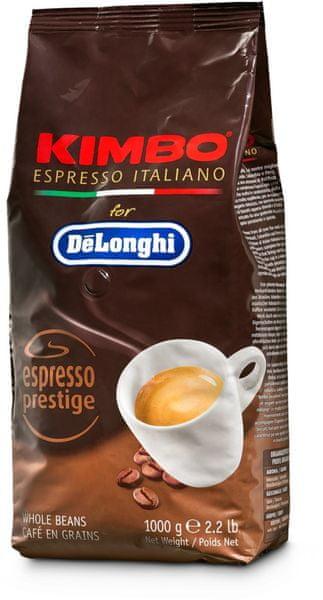 Kimbo DeLonghi zrnková káva Espresso Prestige 1kg