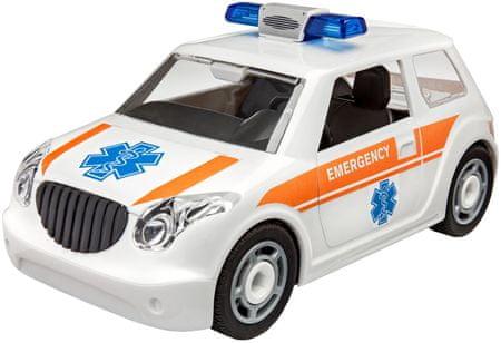 REVELL Junior Kit auto 00805 - Rescue Car (1:20)
