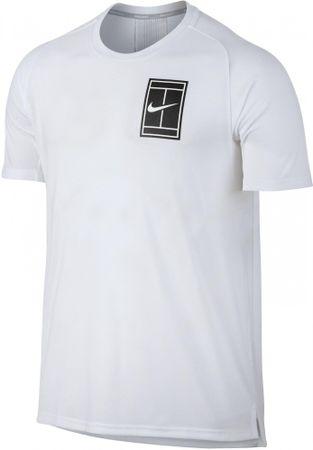 Nike moška športna majica za tenis Court Breathe Top BL RB, bela, XL