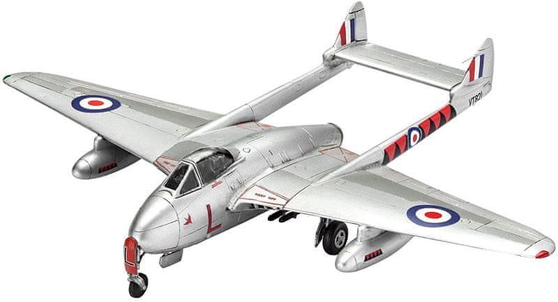 Revell ModelKit letadlo 03934 - Vampire F Mk.3 (1:72)