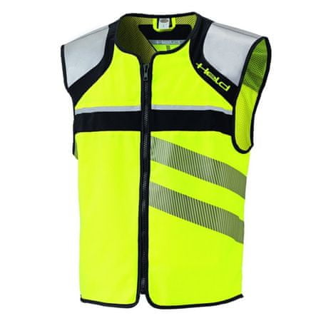 Held skúter/moto reflexná vesta NEONVEST na zips vel.XL